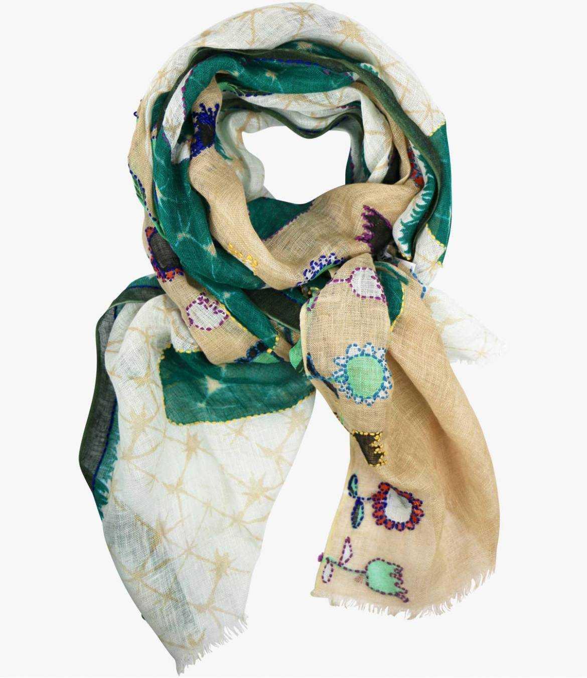 ALICIA Lin scarf for Women 80 x 190 CM Storiatipic - 2