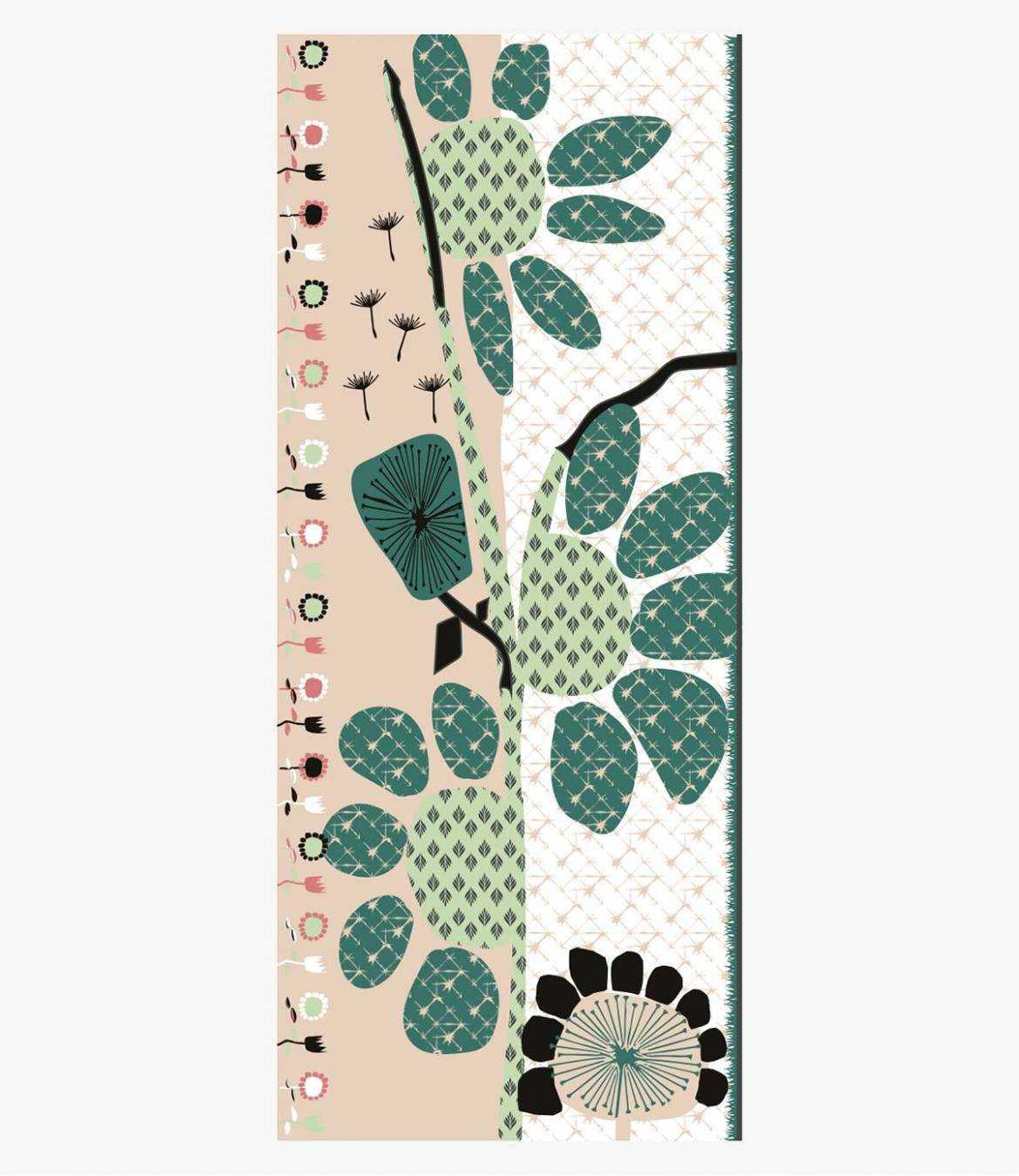 ALICIA Lin scarf for Women 80 x 190 CM Storiatipic - 1