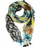 BELLY Lin scarf for Women 80 x 190 CM Storiatipic - 4