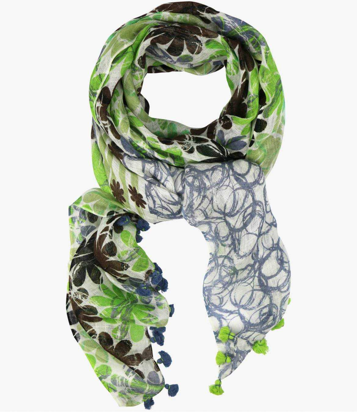 BELLY Lin scarf for Women 80 x 190 CM Storiatipic - 2