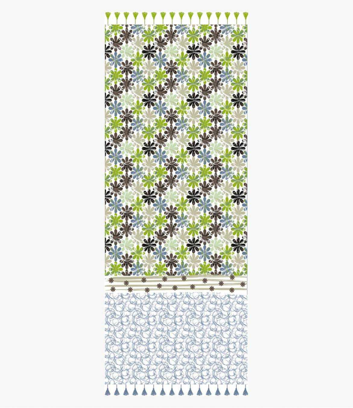 BELLY Lin scarf for Women 80 x 190 CM Storiatipic - 1