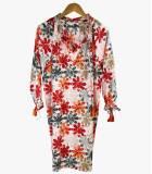 BESS ELLY Robe en Coton pour Femme Storiatipic - 2