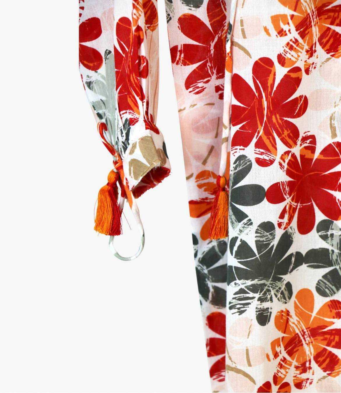 BESS ELLY Robe en Coton pour Femme Storiatipic - 3