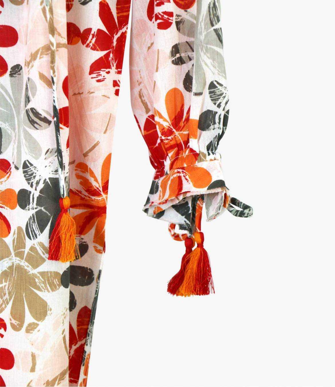 BESS ELLY Robe en Coton pour Femme Storiatipic - 4