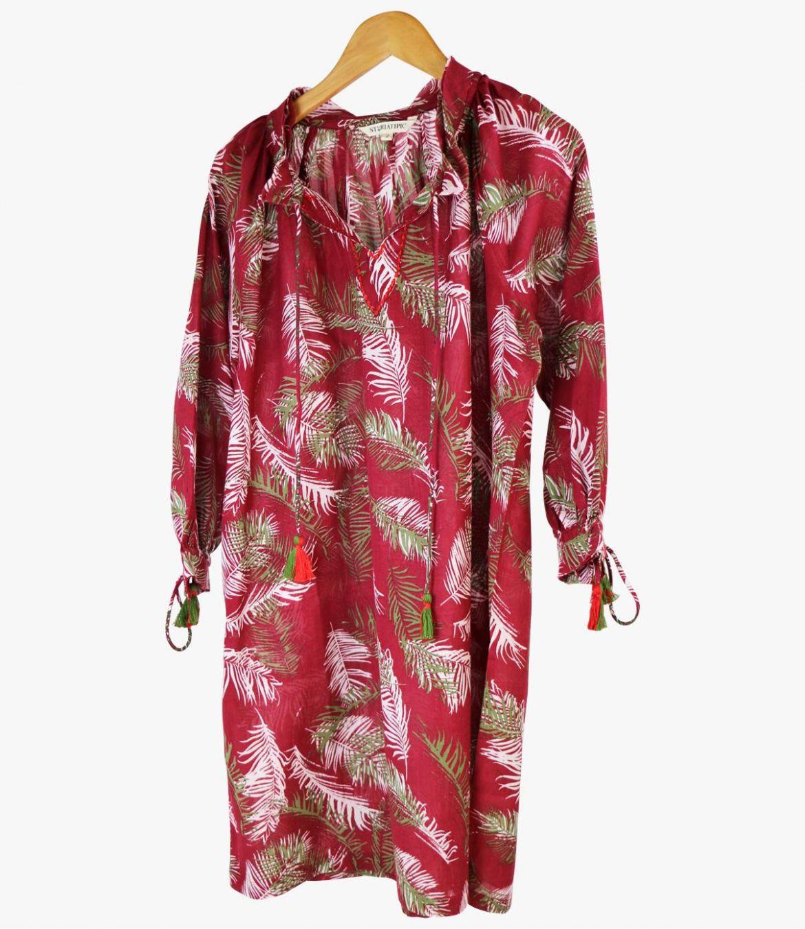 BESS PALOMA Robe en Coton pour Femme Storiatipic - 2