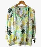 BETI ELLY Cotton Blouse for Women Storiatipic - 2