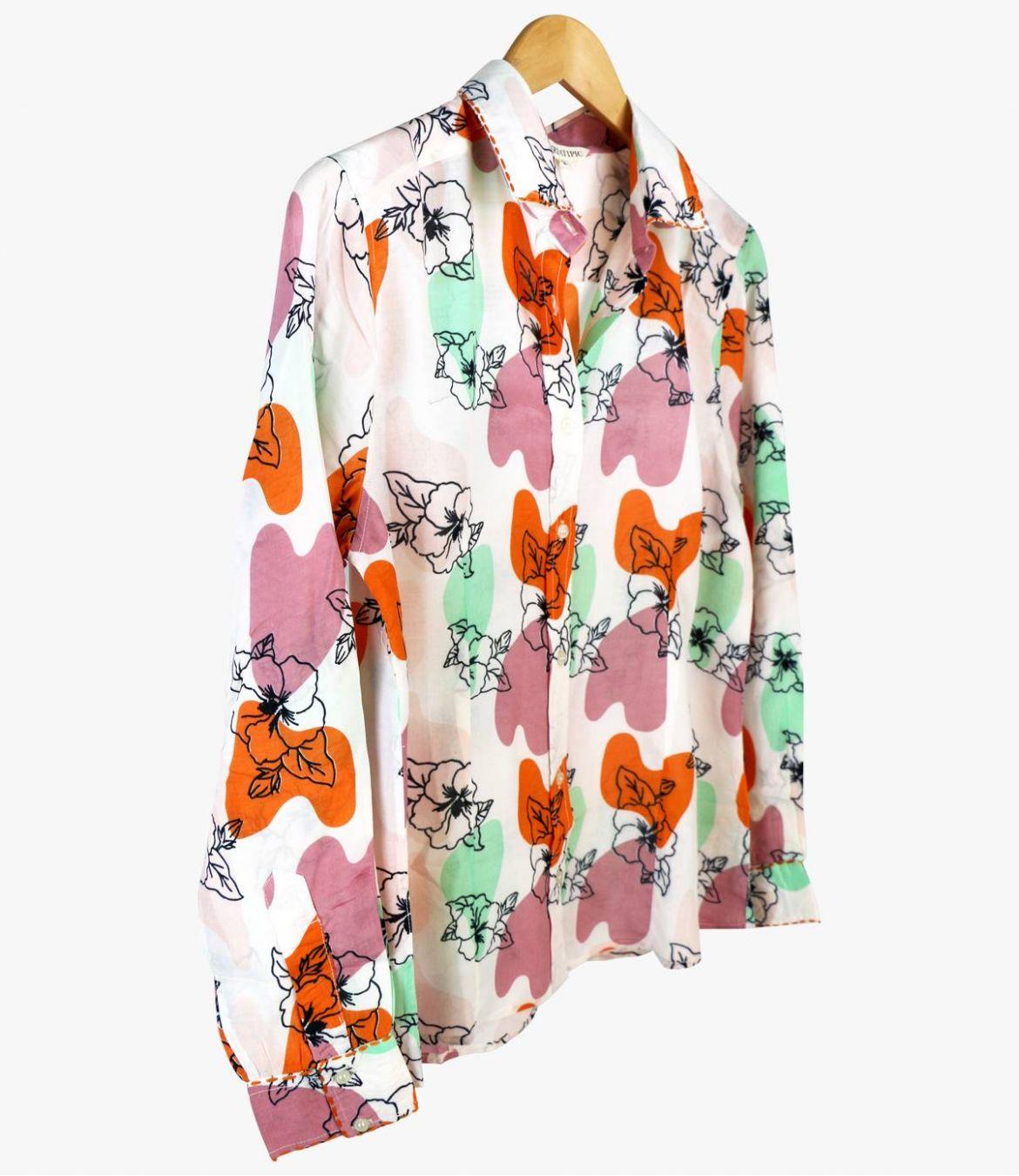 BONI VANYA Women's Modal Shirt Storiatipic - 4
