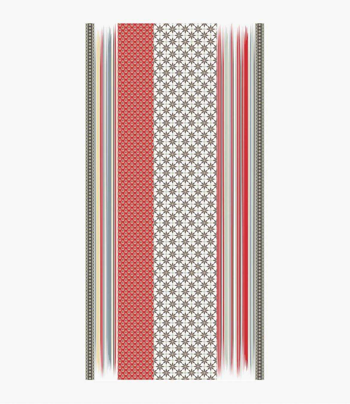 BORIS Men's Cotton Scarf 100x200 cm Storiatipic - 6