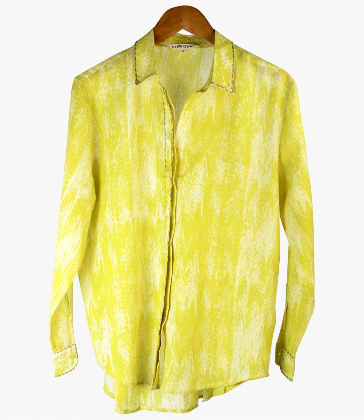CARI MOIRA Cotton Shirt for Women Storiatipic - 1