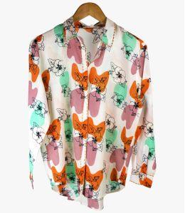 CARI VANYA Cotton Shirt for Women Storiatipic - 4