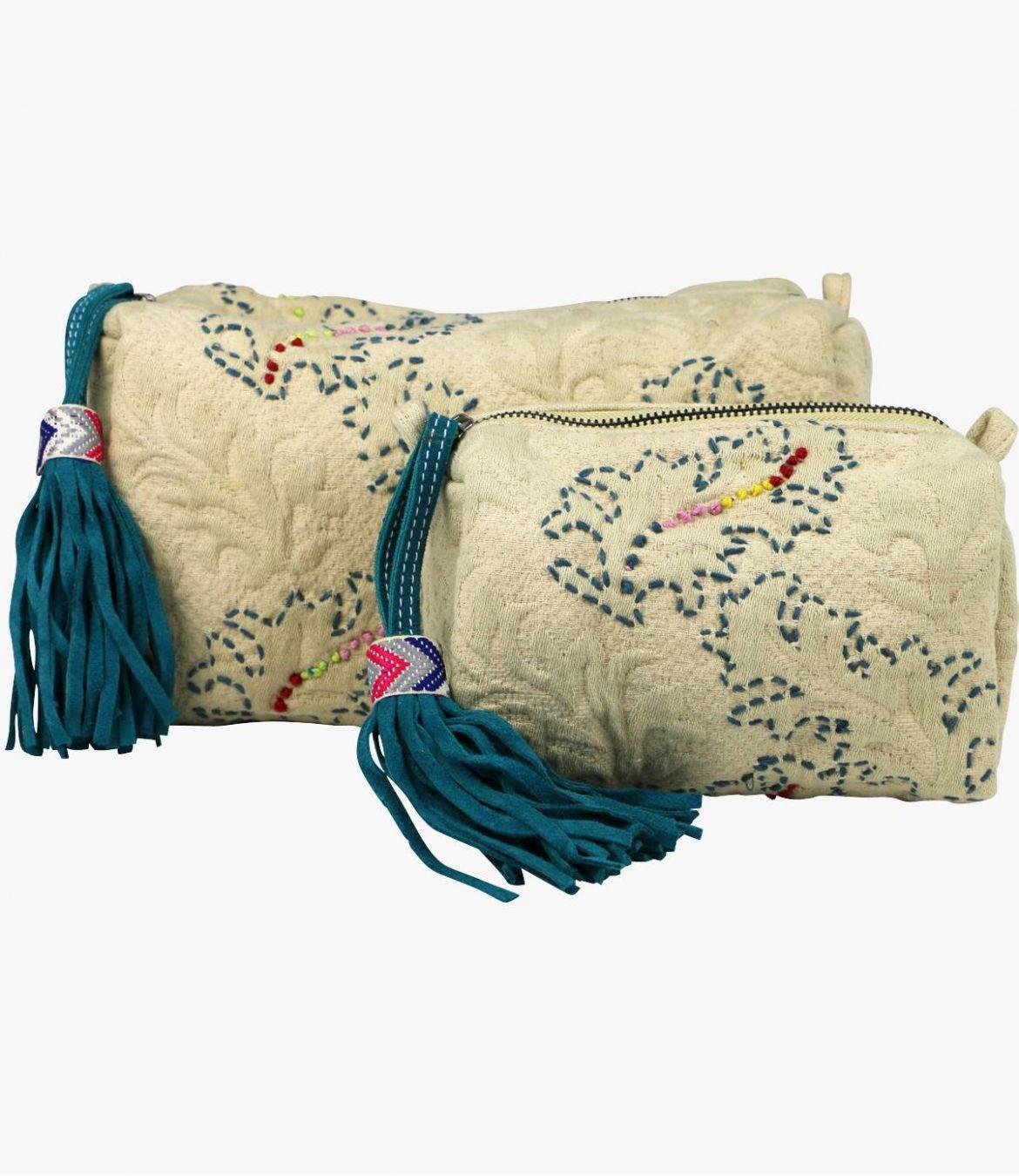 COSM - GAMME VILLE Pochette en Coton pour Femme 20x7x11cm / 29x14x14cm Storiatipic - 1