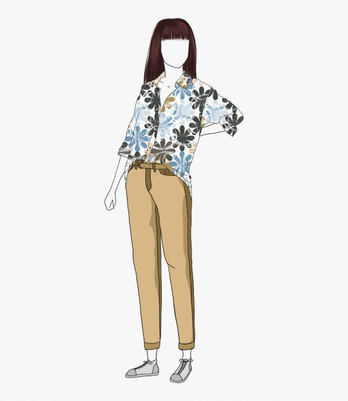 COSY ELLY Chemise en Coton pour Femme Storiatipic - 3
