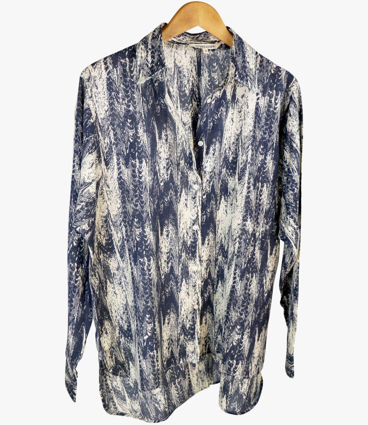 COSY MOIRA Cotton Shirt for Women Storiatipic - 5