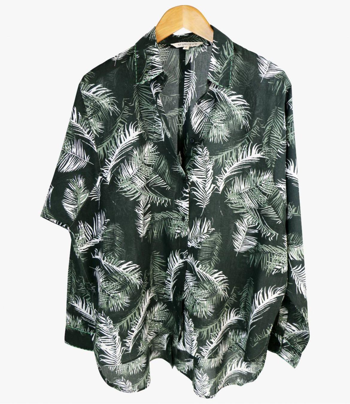 COSY PALOMA Cotton Shirt for Women Storiatipic - 1