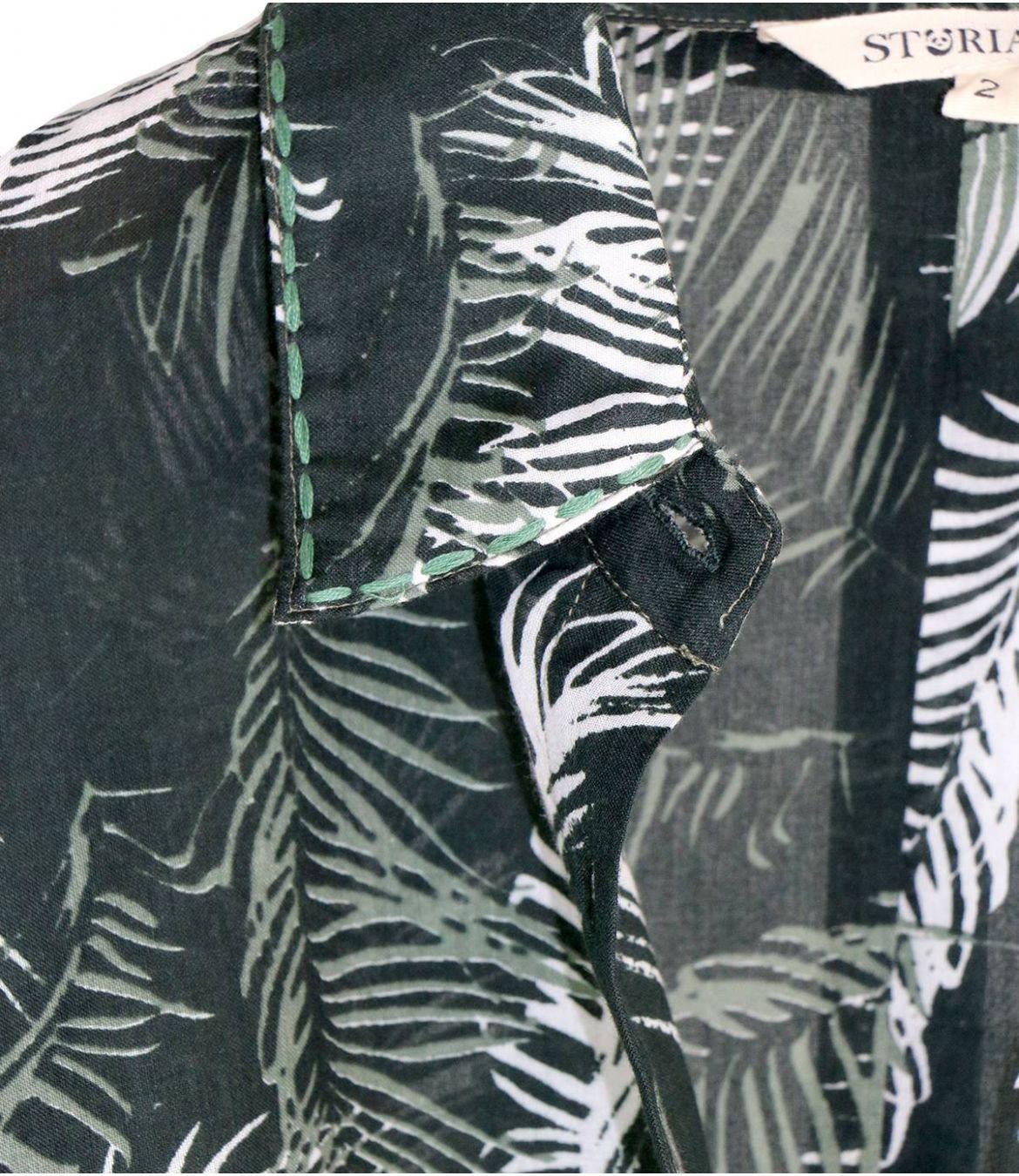 COSY PALOMA Cotton Shirt for Women Storiatipic - 3