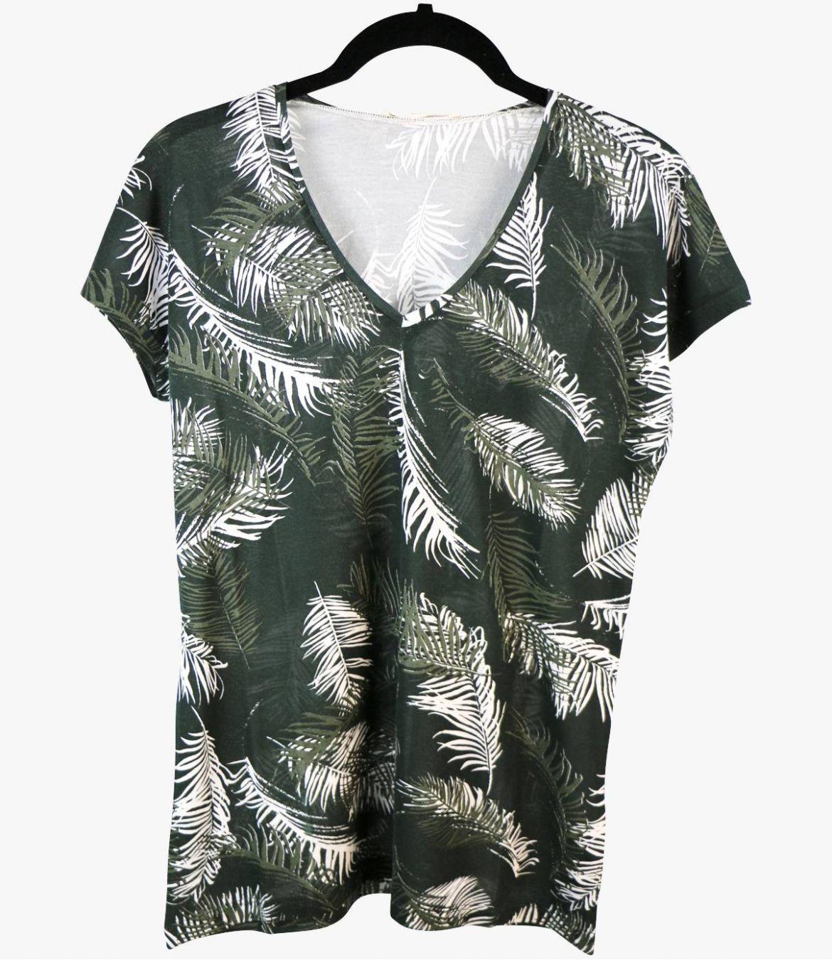EVI PALOMA T-Shirt en Coton, Modal pour Femme Storiatipic - 2
