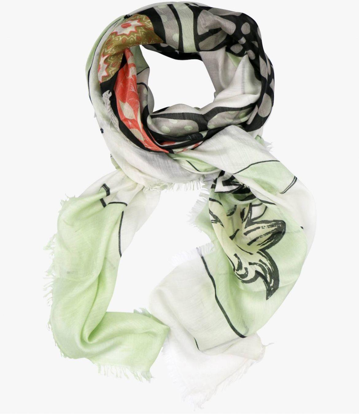 GLORIA Modal scarf, Women's Silk 120 x 160 CM Storiatipic - 5