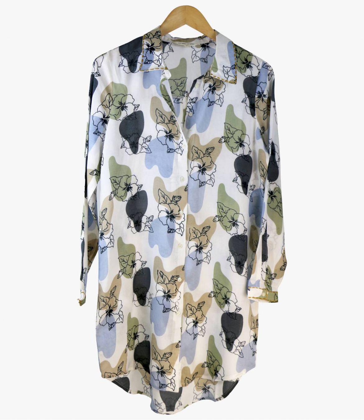 KAIA VANYA Women's Modal Dress Storiatipic - 1