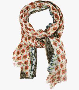 KIARA Foulard en Coton pour Femme 100 x 200 CM Storiatipic - 9