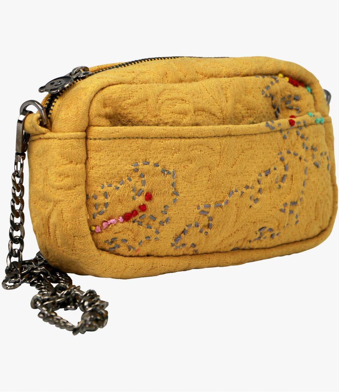 NIGHT - GAMME VILLE Women's Cotton Pocket 19x11x6cm Storiatipic - 3
