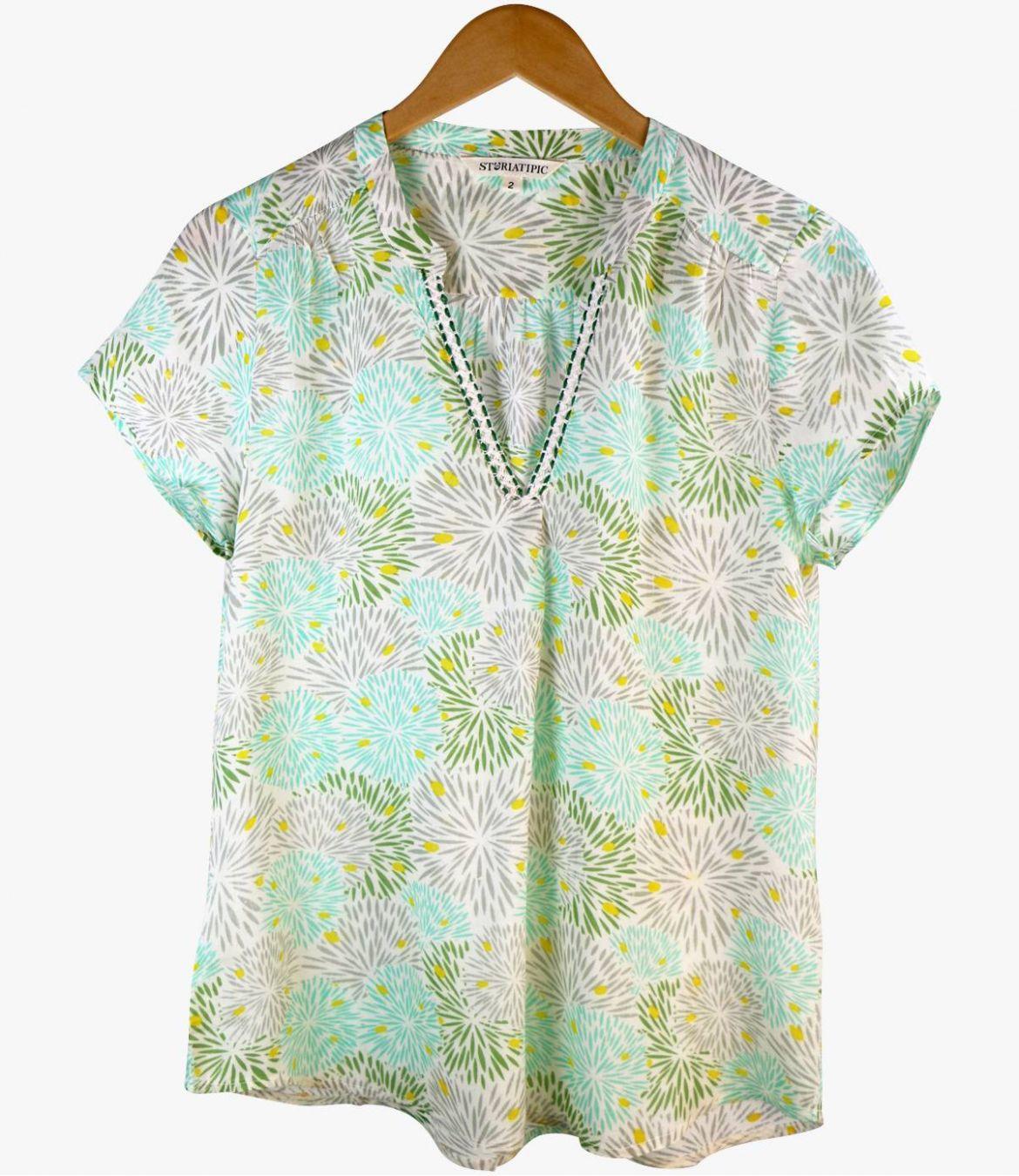 ZOE ECLAT Women's Modal T-shirt Storiatipic - 7