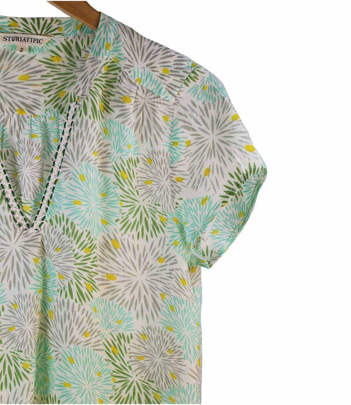 ZOE ECLAT Women's Modal T-shirt Storiatipic - 9