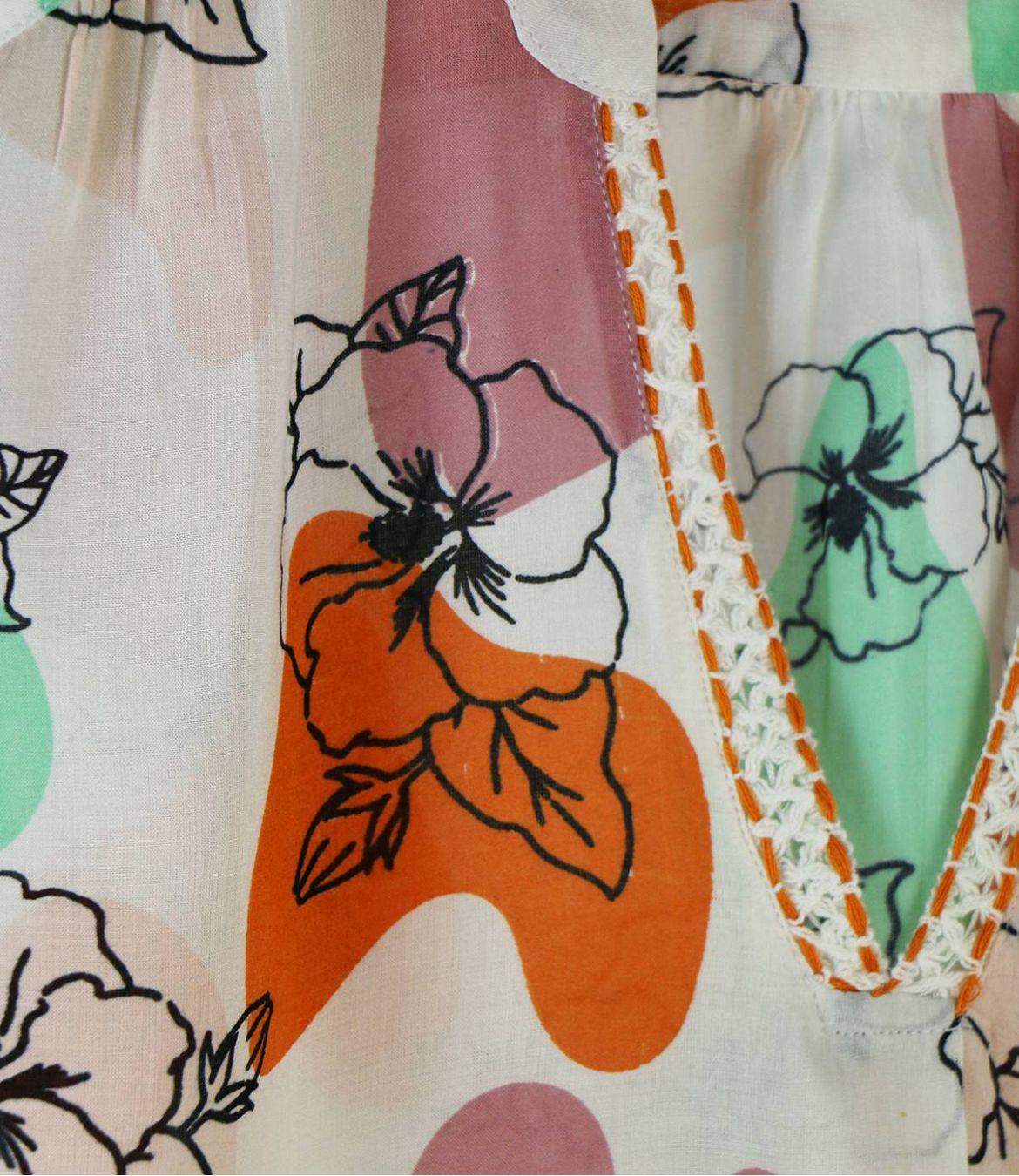 ZOE VANYA Women's Modal T-shirt Storiatipic - 3