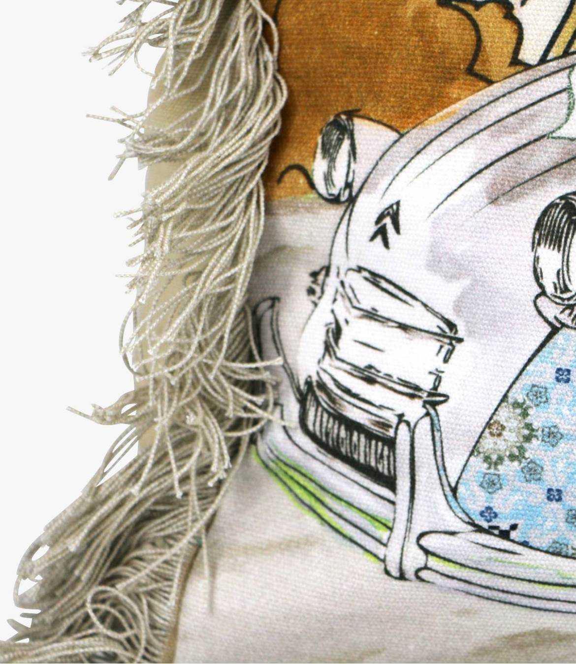 CRUISE - GAMME VOYAGE Women's Cotton Bag 40x30x15 cm Storiatipic - 6