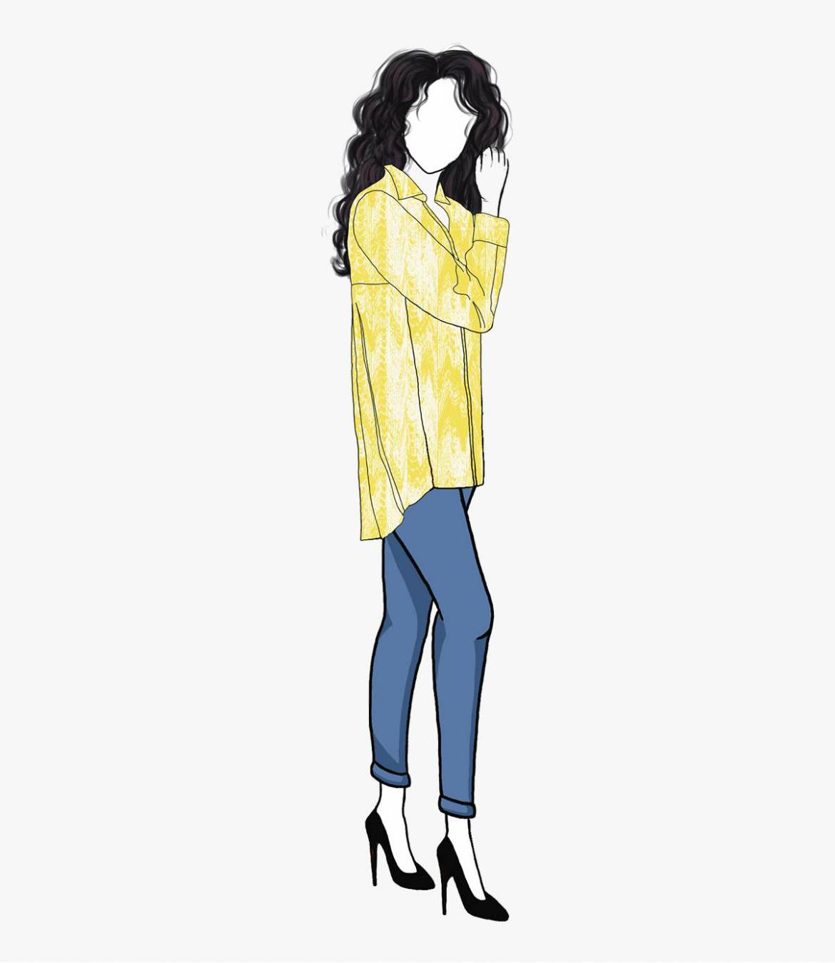 CARI MOIRA Cotton Shirt for Women Storiatipic - 7