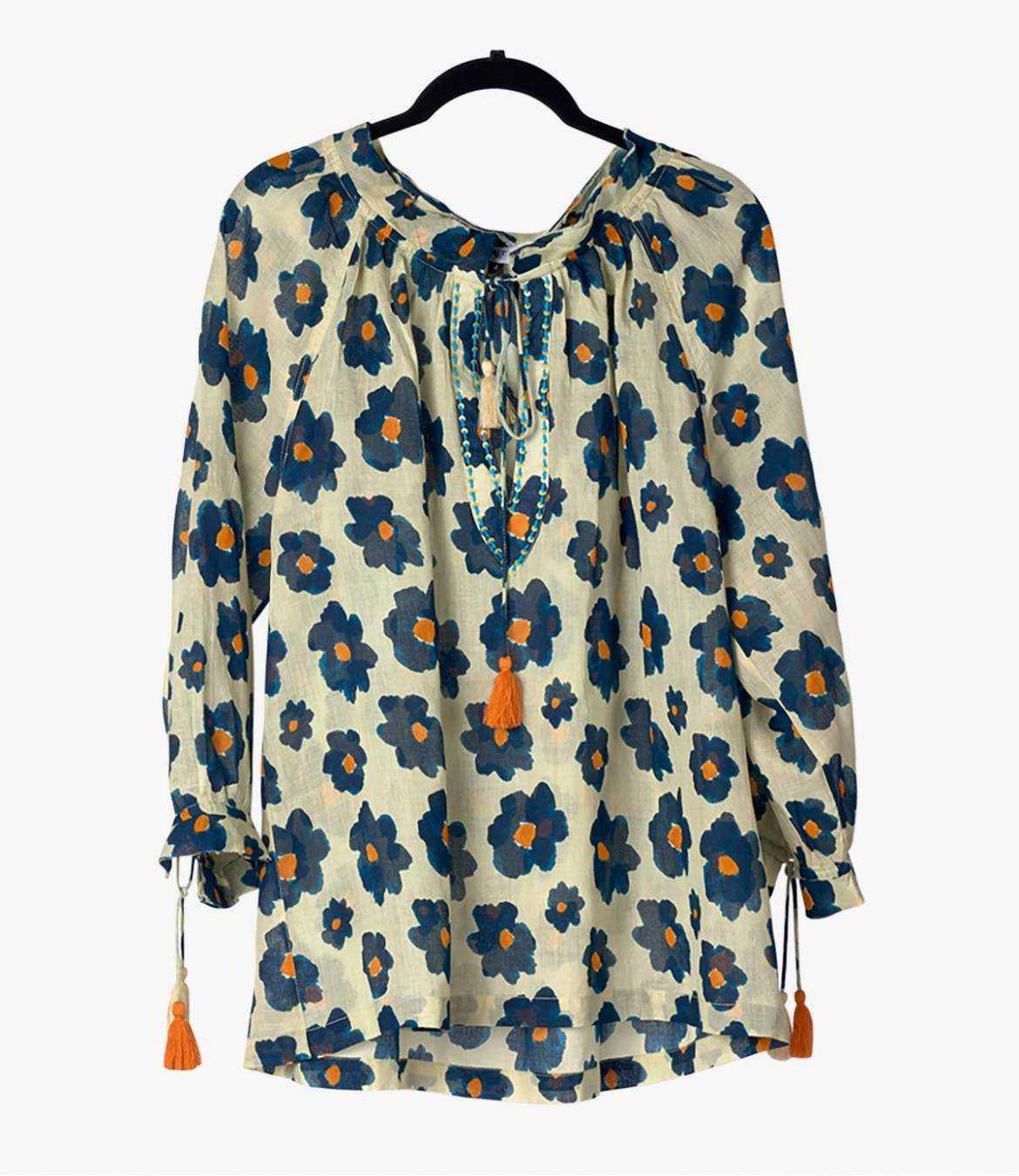 BETI ASTER Cotton Blouse for Women Storiatipic - 1