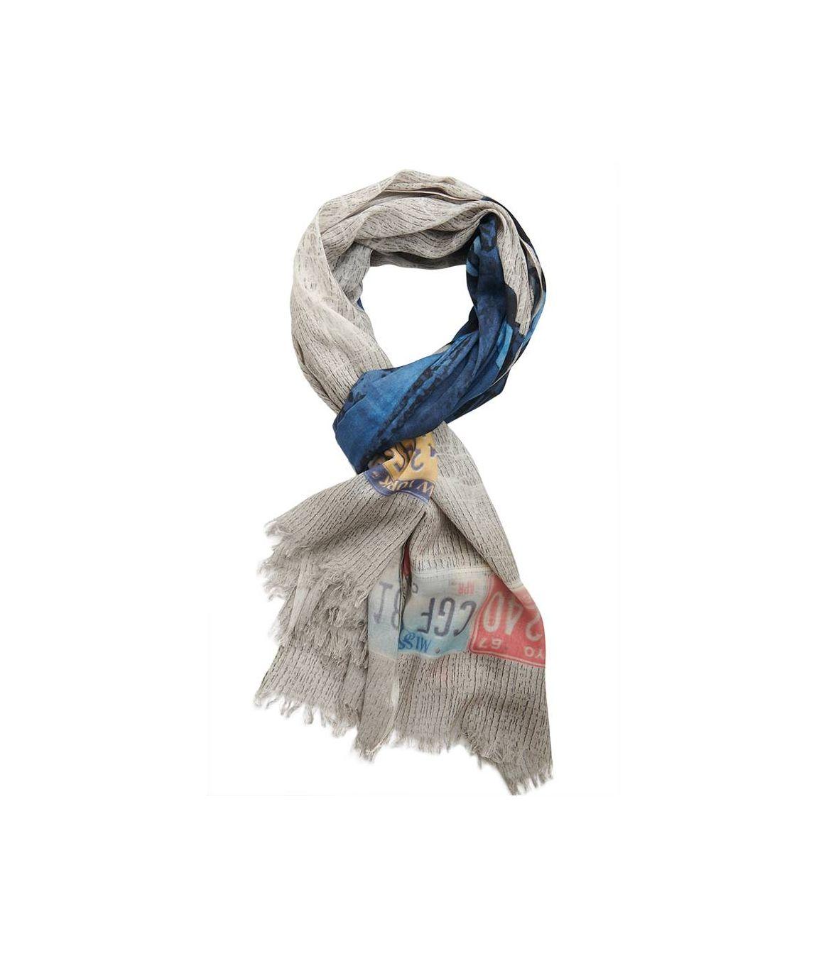 HECTOR Foulard en Coton, Modal pour Homme 100x200 cm Storiatipic - 1