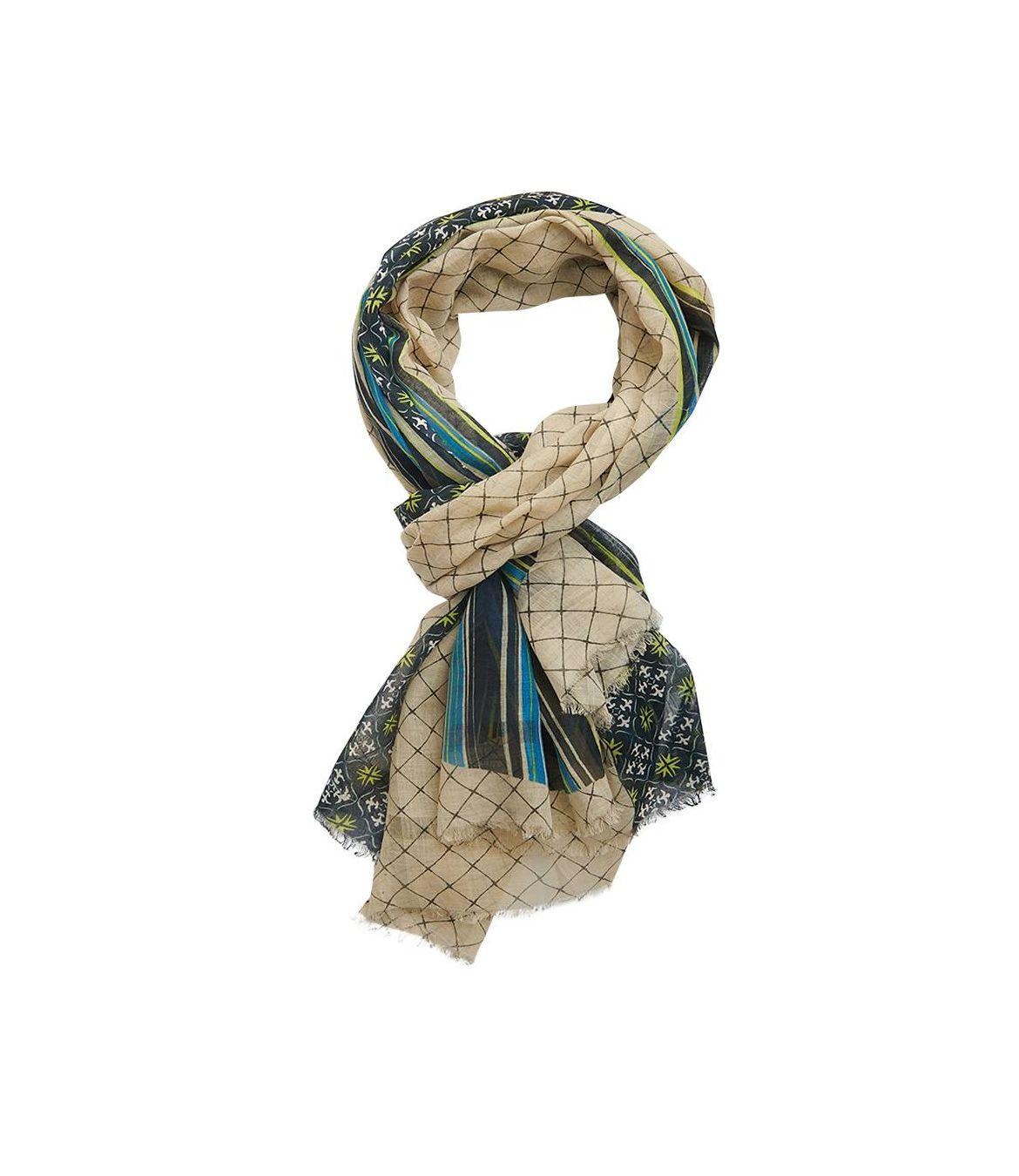 ORPHEE Cotton scarf, Men's Silk 80x200 cm Storiatipic - 1