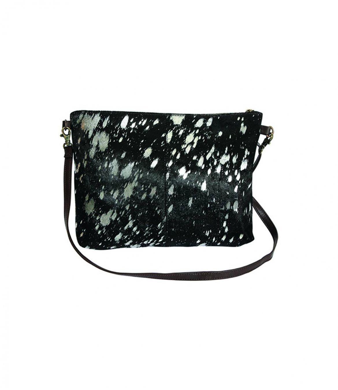 AFI Women's Leather Bag 22x28 cm Storiatipic - 1