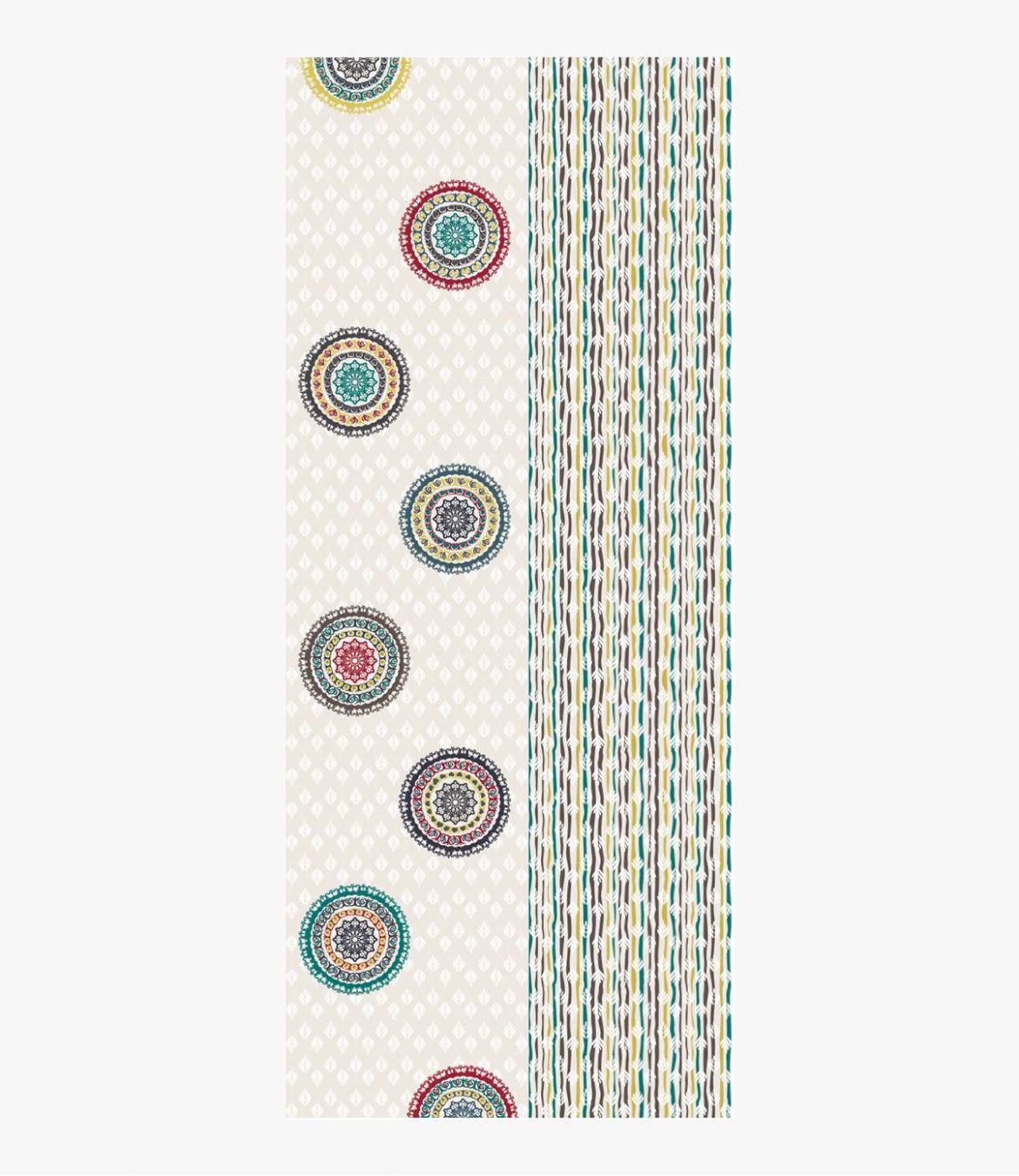 BEA Echarpe en Laine pour Femme 80 x 190 CM - 4